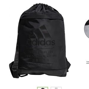 Adidas string backpack